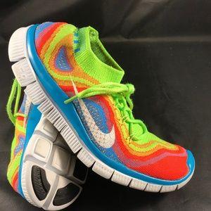 78c660d1eb52 Nike Shoes - XLNT NIKE FLYKNIT FREE 5.0 Rainbow Mens 6 Wms 7.5
